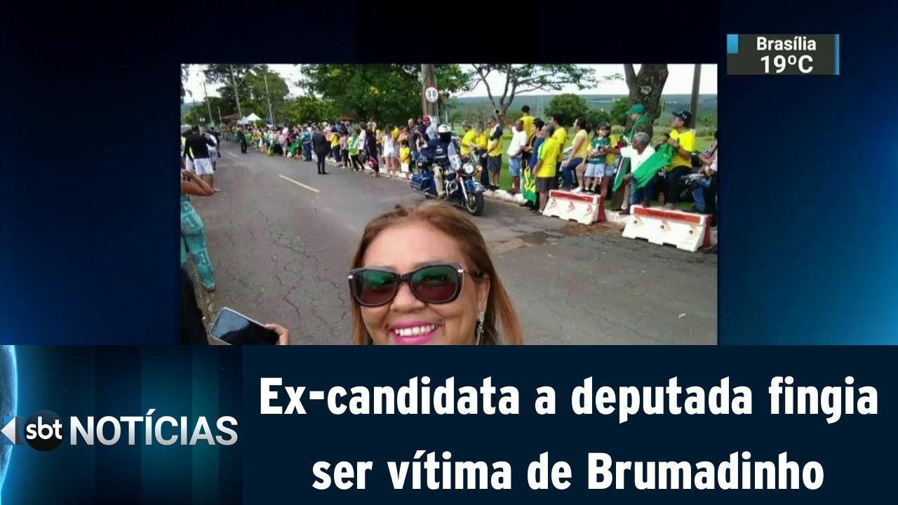 Ex-candidata a deputada fingia ser vítima de Brumadinho e recebeu R$65mil da VALE. Foi presa e está em Ribeirão das Neves.