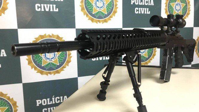 PM é preso no Rio negociando, por R$35 mil, fuzil usado por atiradores de elite